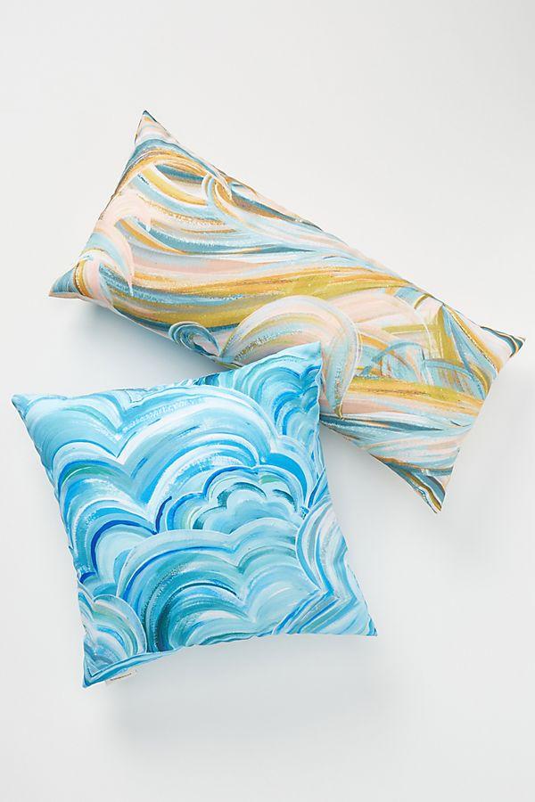 Slide View: 1: Oceanside Indoor/Outdoor Pillow