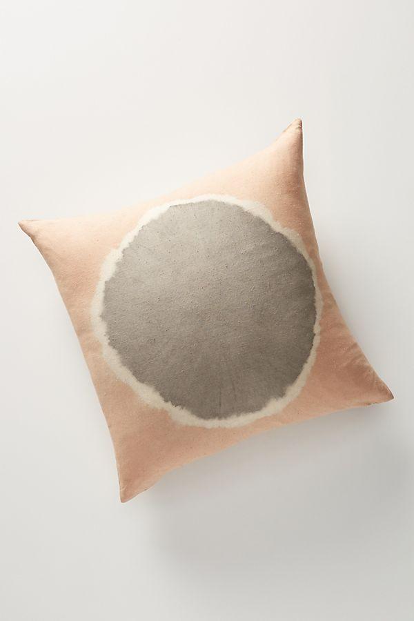 Flower Dyed Ardel Pillow Anthropologie Uk