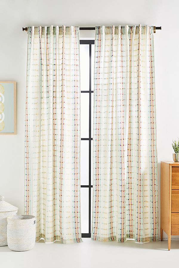 Woven Light Spring Curtains