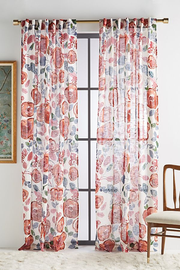 Slide View: 1: Flora Curtain