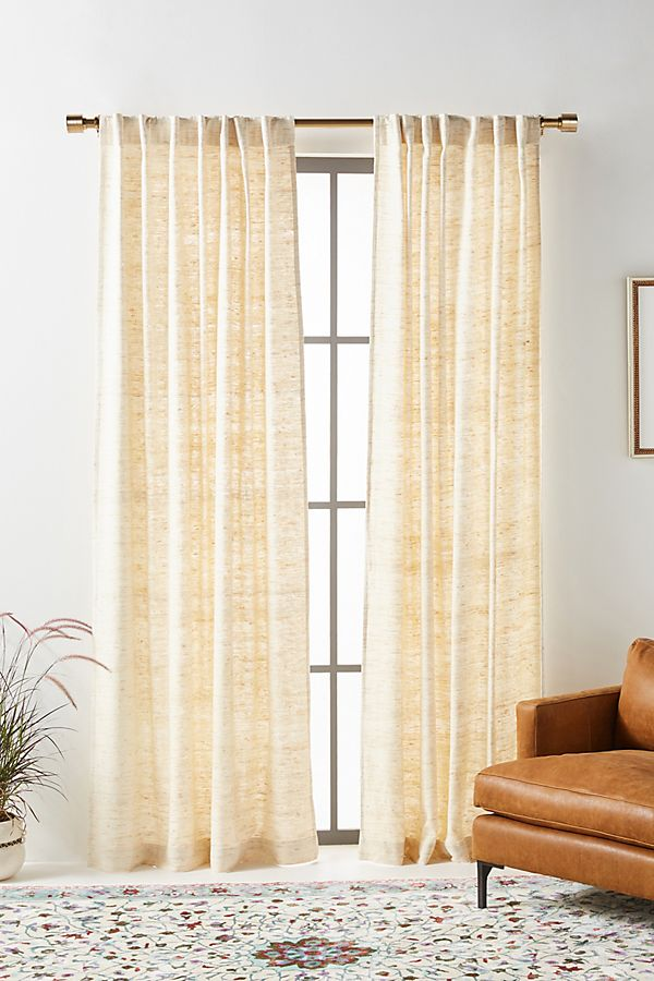 Slide View: 1: Khadi Silk Curtain