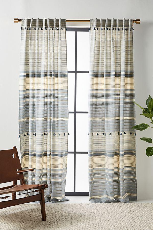 Slide View: 1: Woven Mariella Curtain