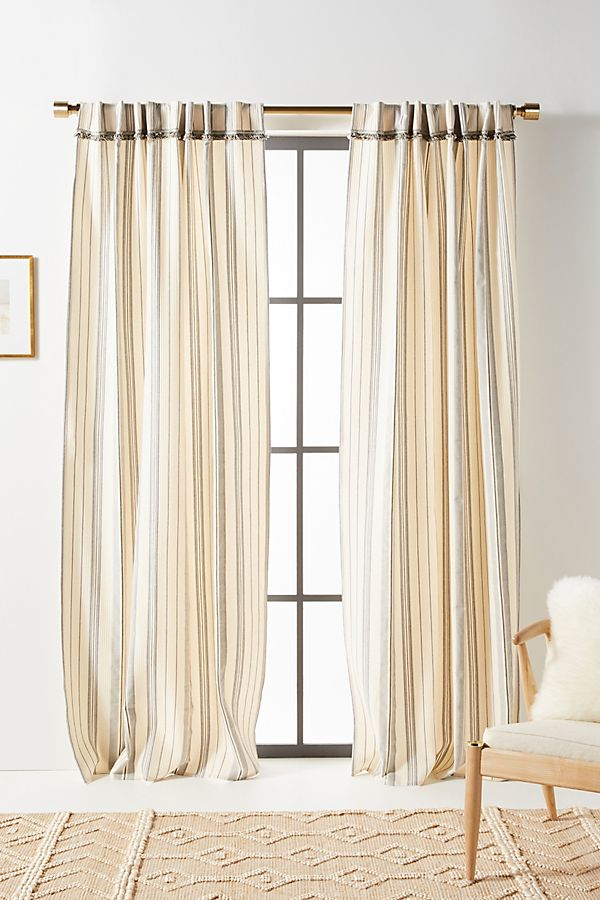 Slide View: 1: Fatima Curtains, Set of 2
