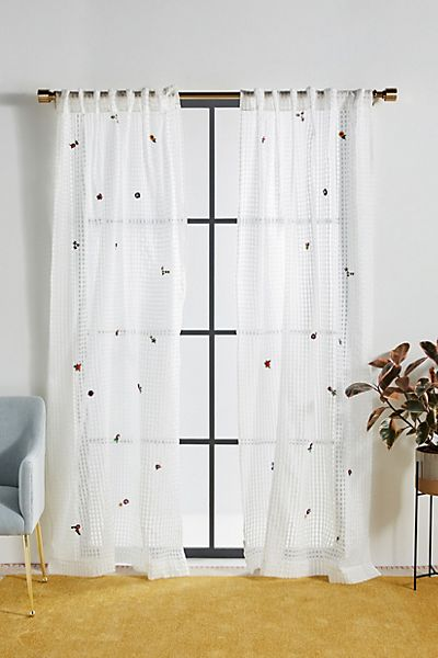 Embroidered Hilma Curtain