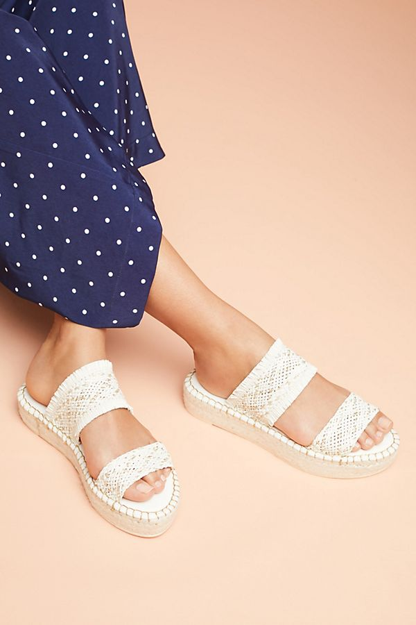 f0b3ce1b443 Anthropologie Woven Espadrille Sandals