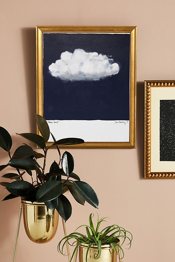 Slide View: 1: Storm Cloud Wall Art
