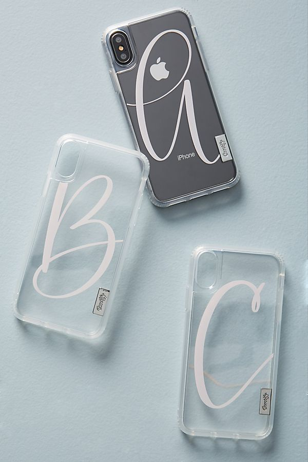 26c802ab624f5 Casetify Scripted Monogram iPhone X Case