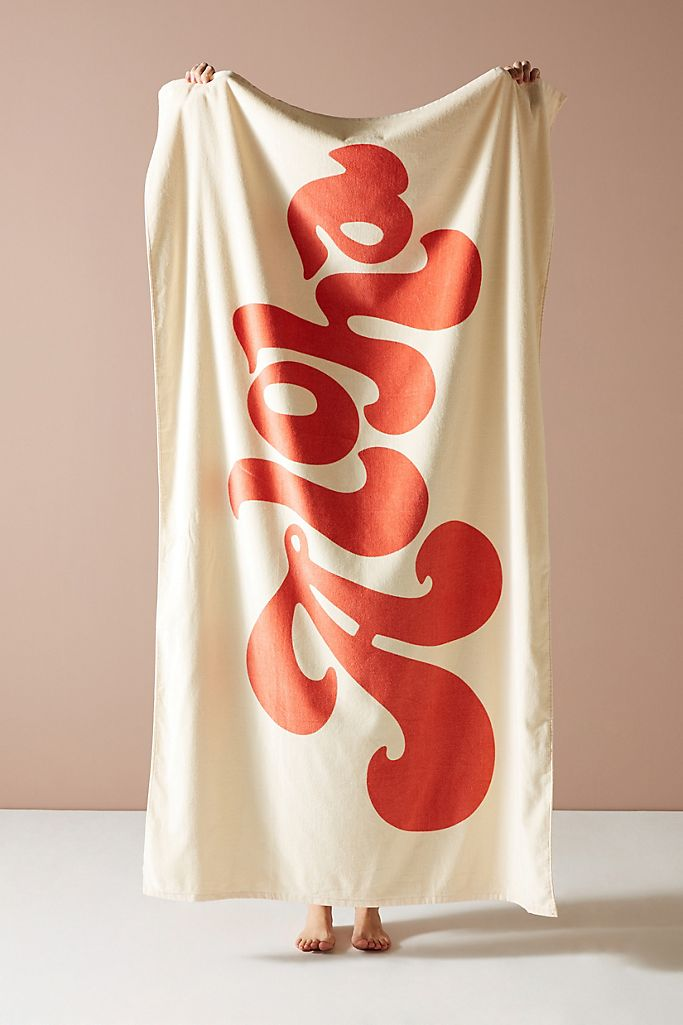 Ban Do Aloha Beach Towel Anthropologie