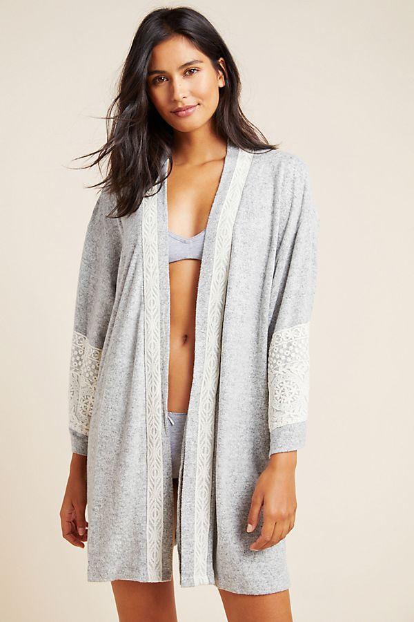 Slide View: 1: Flora Nikrooz Brushed Fleece Robe