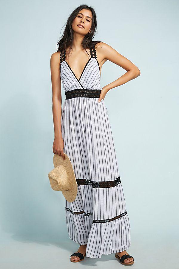 0aff74966338 Jaluit Striped Maxi Dress | Anthropologie