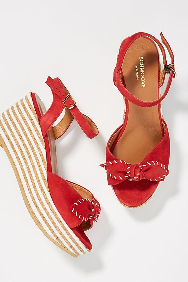d9e5b84117 Schmoove Ariel Platform Wedge Sandals