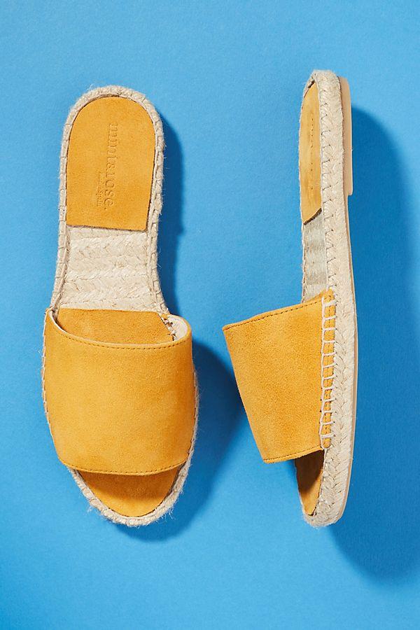 af6f0dff87d0 Mint   Rose Olivia Espadrille Slide Sandals