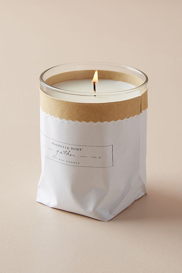Magnolia Home Kraft Candle Anthropologie