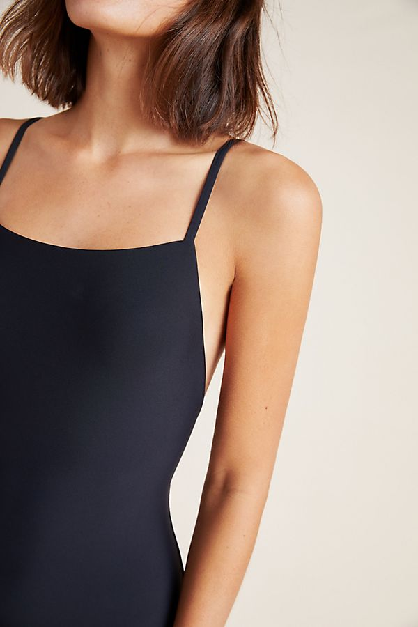 ee3fca72c4 Anthropologie Square-Neck One-Piece Swimsuit | Anthropologie