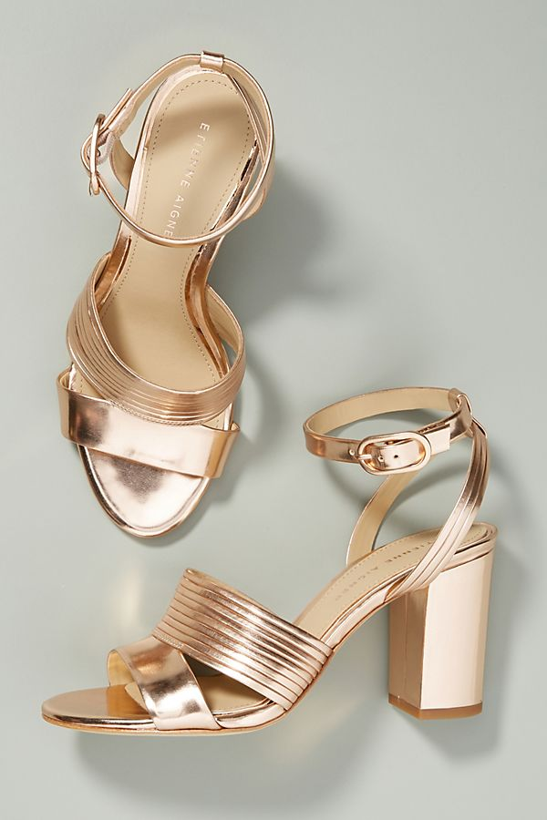 ce683334dd Etienne Aigner Layla Heeled Sandals