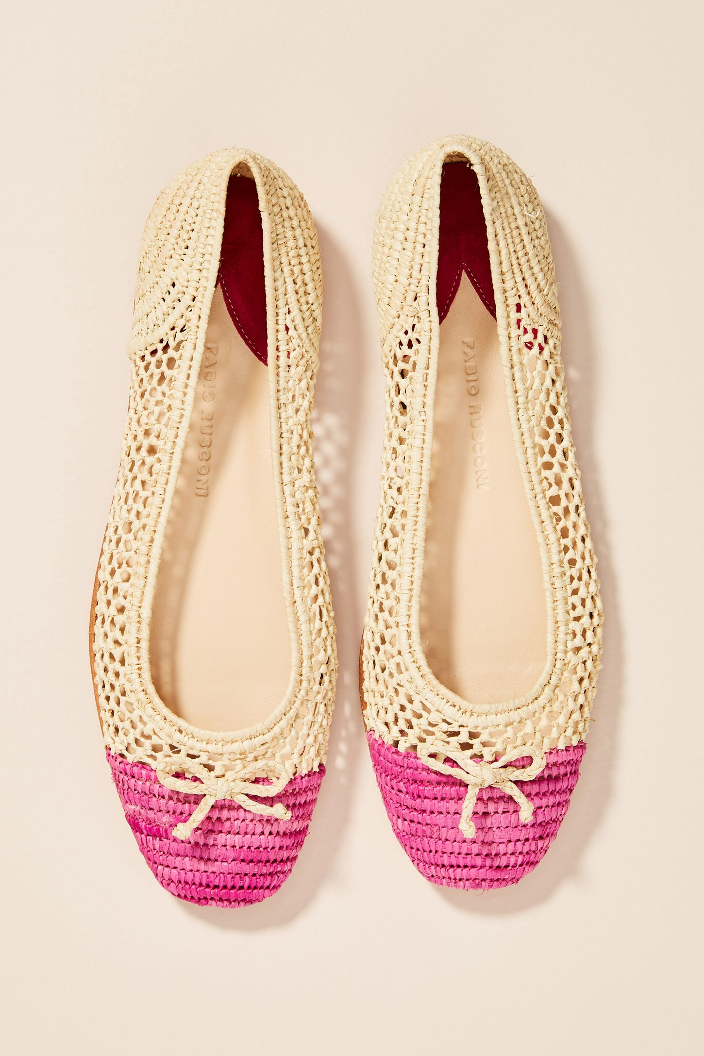 85fd1bc9e3ab Fabio Rusconi Amina Woven Ballet Flats. Tap image to zoom. Hover your mouse  over an image to zoom. Double Tap to Zoom