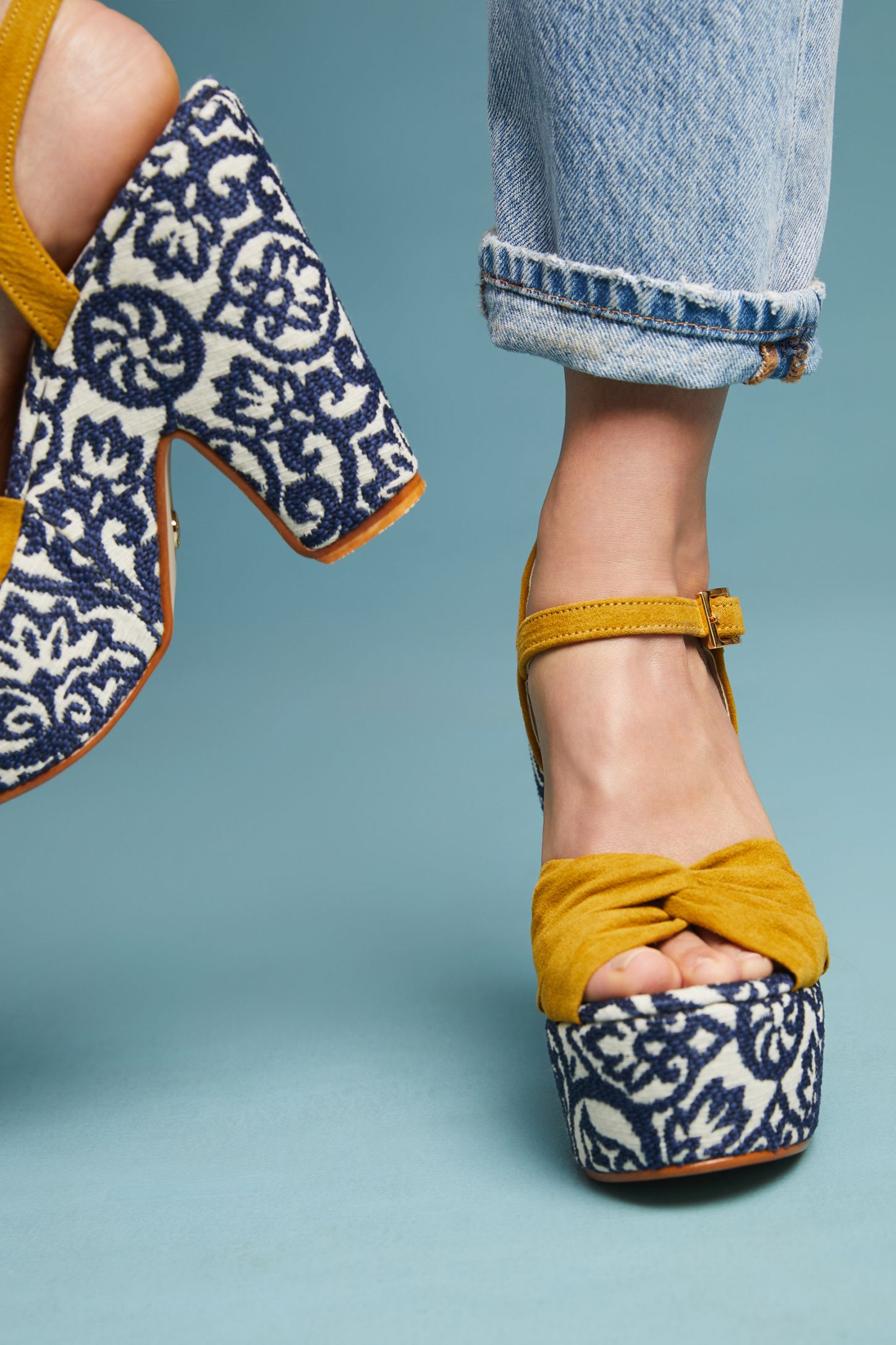 8a016f397ff9 Tahi Carson Platform Heeled Sandals