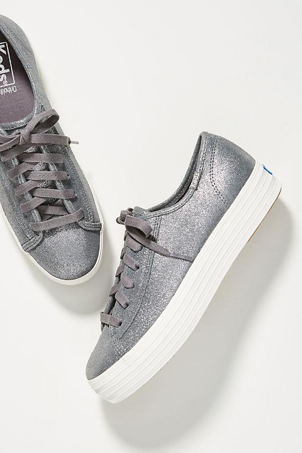 2795e6908cb3 Keds Triple Kick Glitter Sneakers | Anthropologie