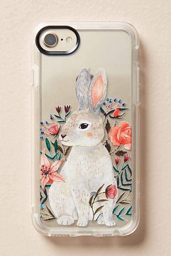 finest selection 92696 c613b Casetify Floral Rabbit iPhone Case
