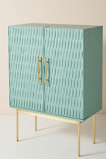 Slide View: 2: Bethan Gray Feather Collection Bar Cabinet