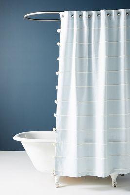 Tasseled Sela Shower Curtain