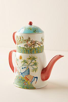 Slide View: 1: Paige Gemmel Eastern Animal Tea for One Set