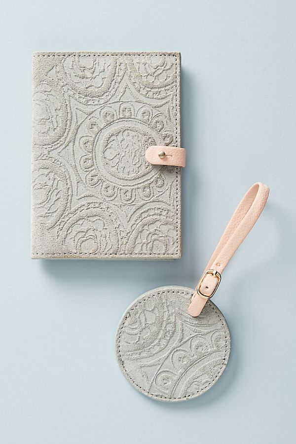 Slide View: 1: Foxglove Passport Holder