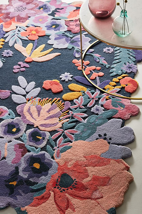 Slide View: 1: Tufted Jardin Rug