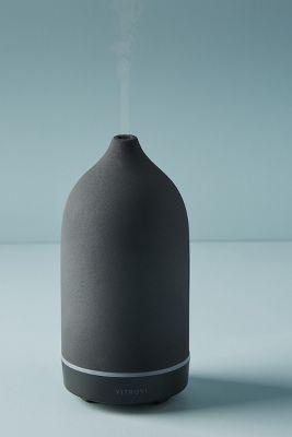 Vitruvi Black Stone Essential Oil Diffuser Anthropologie