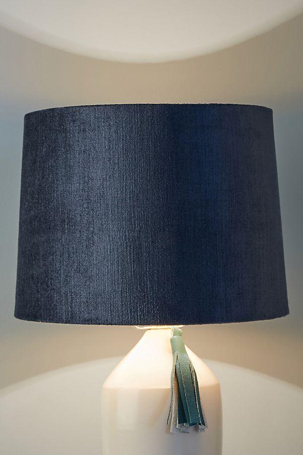 fdf38ade46f Slide View  2  Solid Velvet Lamp Shade