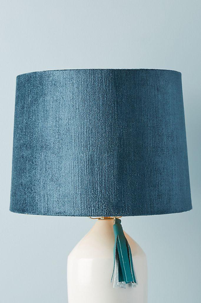 Solid Velvet Lamp Shade Anthropologie