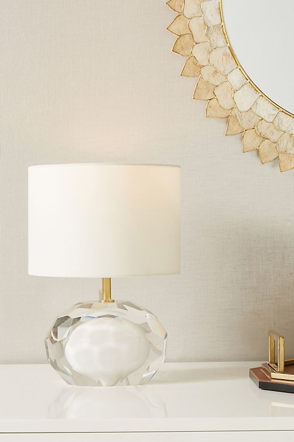 Slide View: 1: Mara Faceted Table Lamp