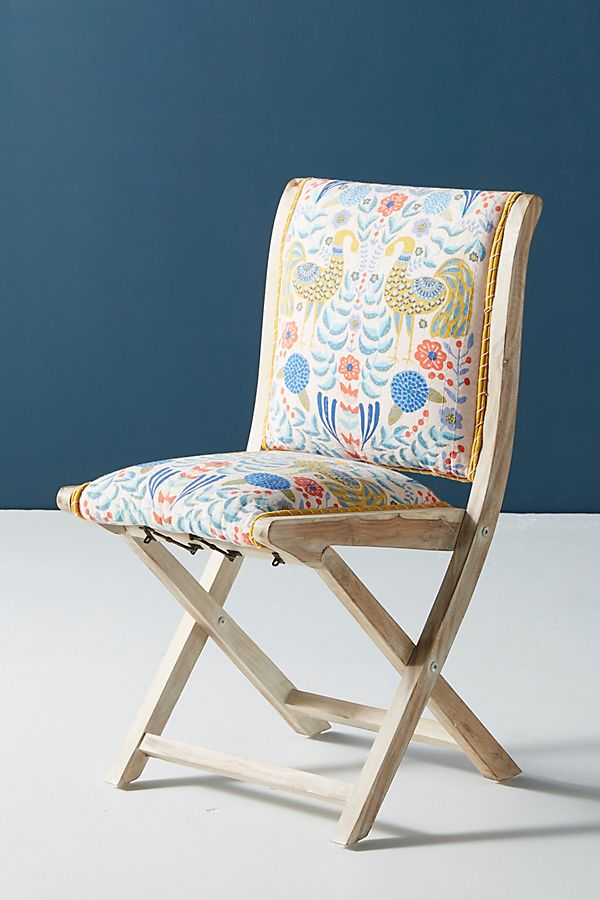 Incredible Jimena Terai Folding Chair Anthropologie Gmtry Best Dining Table And Chair Ideas Images Gmtryco
