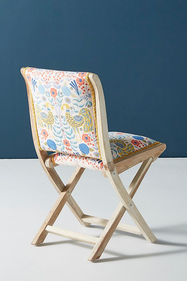 Terrific Jimena Terai Folding Chair Anthropologie Gmtry Best Dining Table And Chair Ideas Images Gmtryco