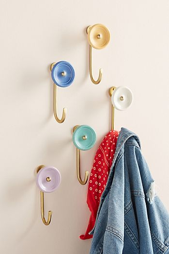 c6dd86172 Hooks | Decorative Wall & Coat Hooks | Anthropologie