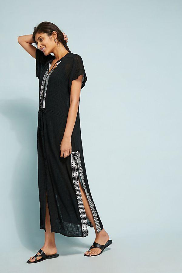 5e9b9360e9 Seafolly Pennata Embroidered Maxi Dress
