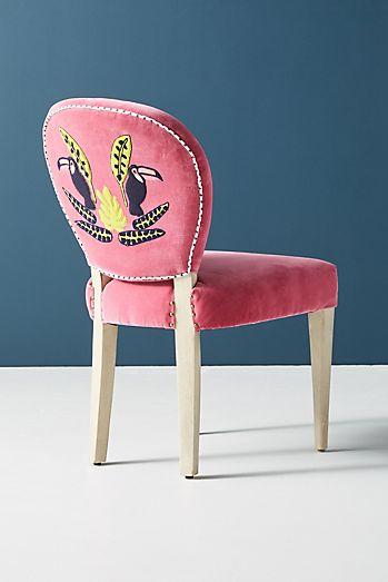 Mint Green Velvet Dining Chairs