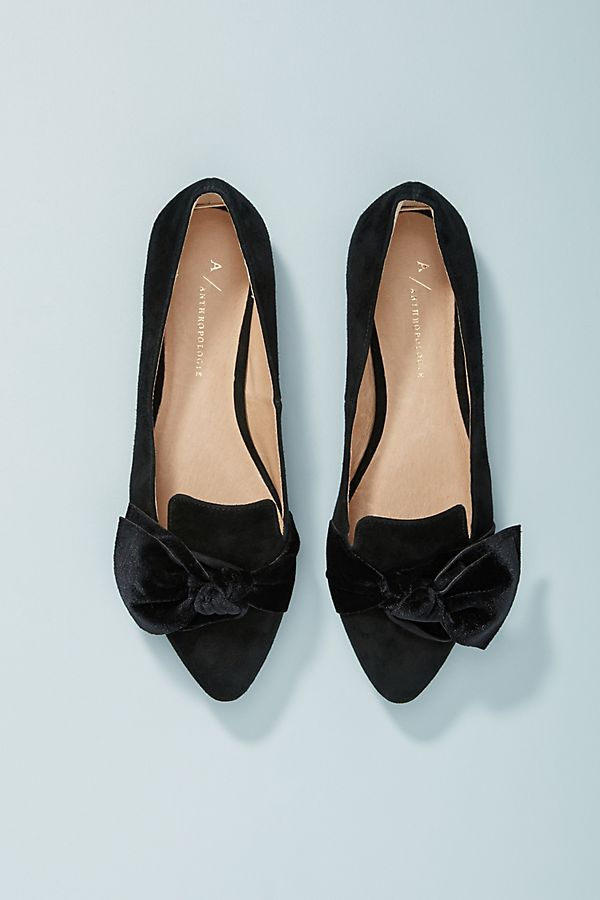 9eb1abce795f Slide View  1  Anthropologie Alexandra Bow-Tied Flats