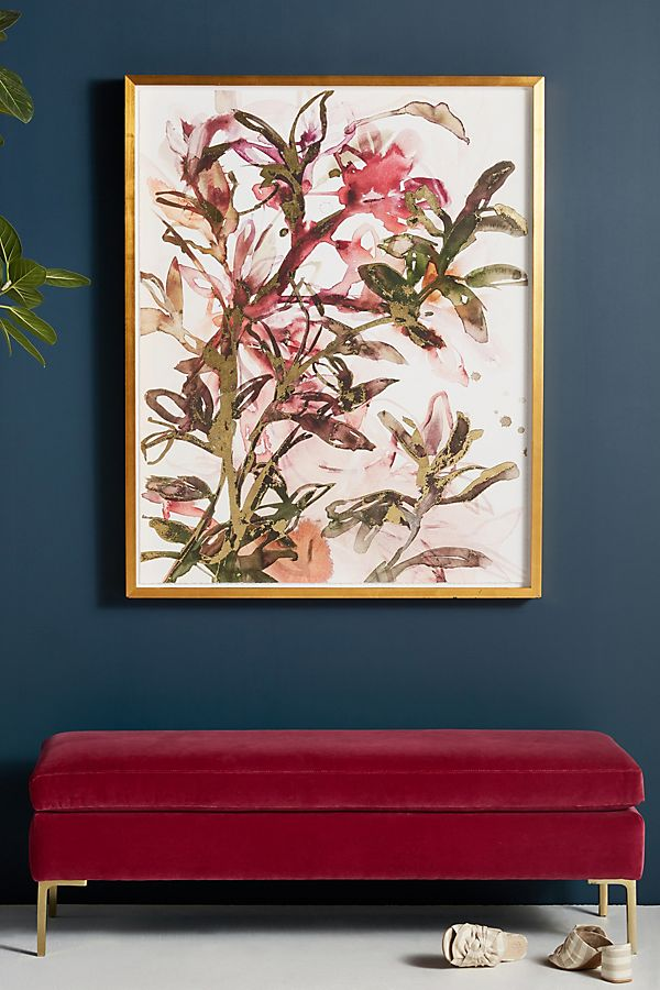 Slide View: 1: Floral Delight Wall Art