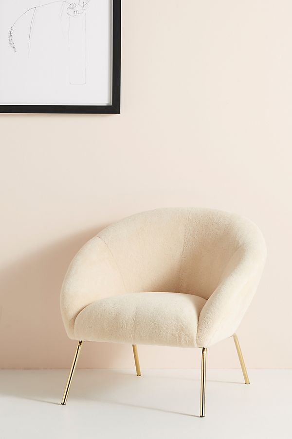 Wool Hillside Occasional Chair Anthropologie
