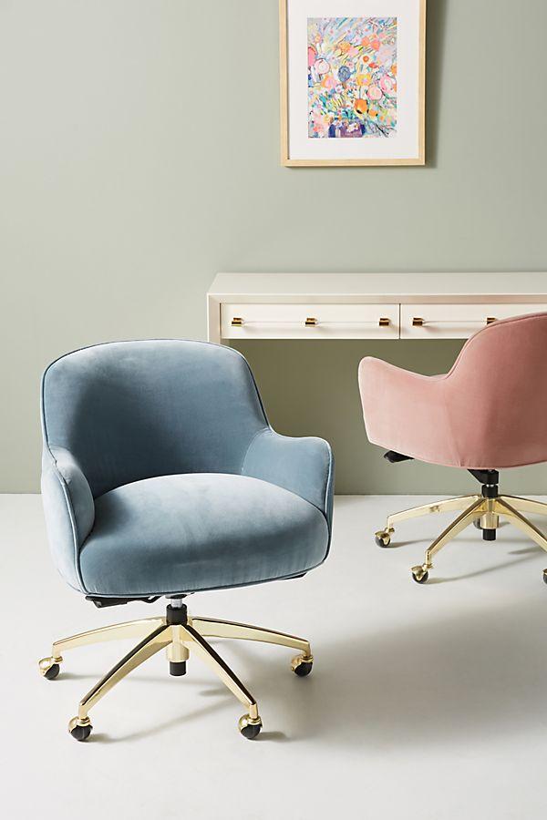Slide View 1 Camilla Swivel Desk Chair