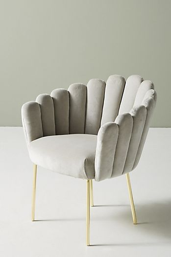 Slide View: 3: Bethan Gray Feather Collection Dining Chair