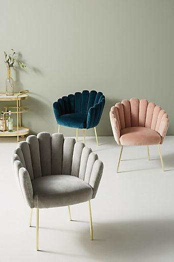 Slide View: 1: Bethan Gray Feather Collection Dining Chair