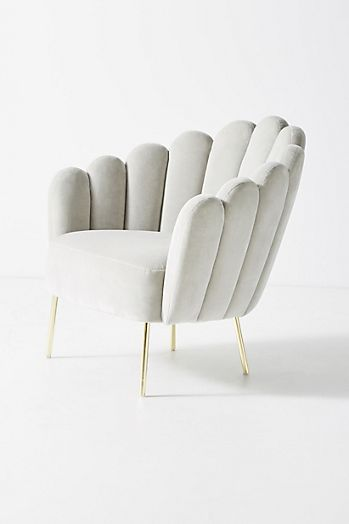 Slide View: 3: Bethan Gray Feathered Occasional Chair