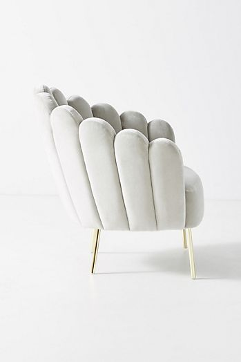 Slide View: 4: Bethan Gray Feathered Occasional Chair