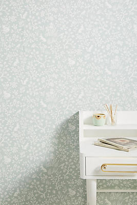 Fox + Hare Wallpaper by Anthropologie