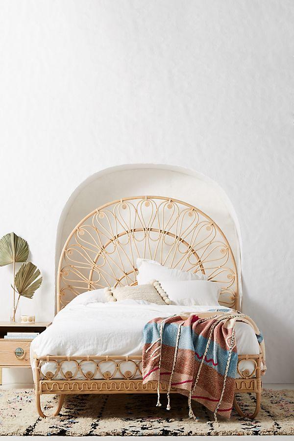 Slide View: 1: Looping Rattan Bed