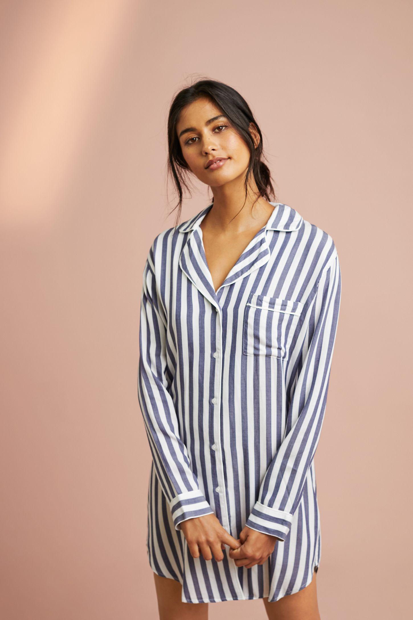 a884d4ce67ac28 Rails Albany Striped Sleep Shirt