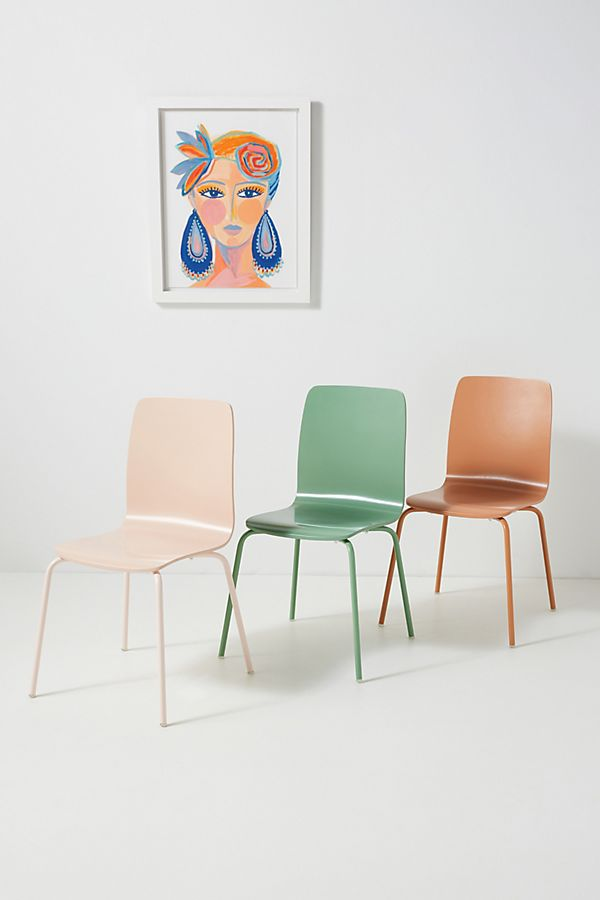 Slide View: 1: Solid Tamsin Dining Chair