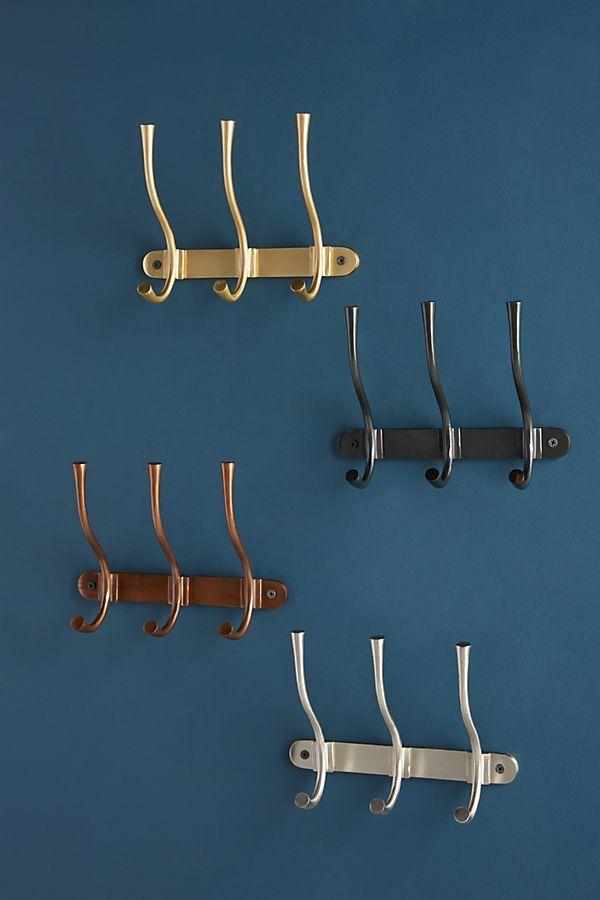 Slide View: 3: Quinn Hook Rack